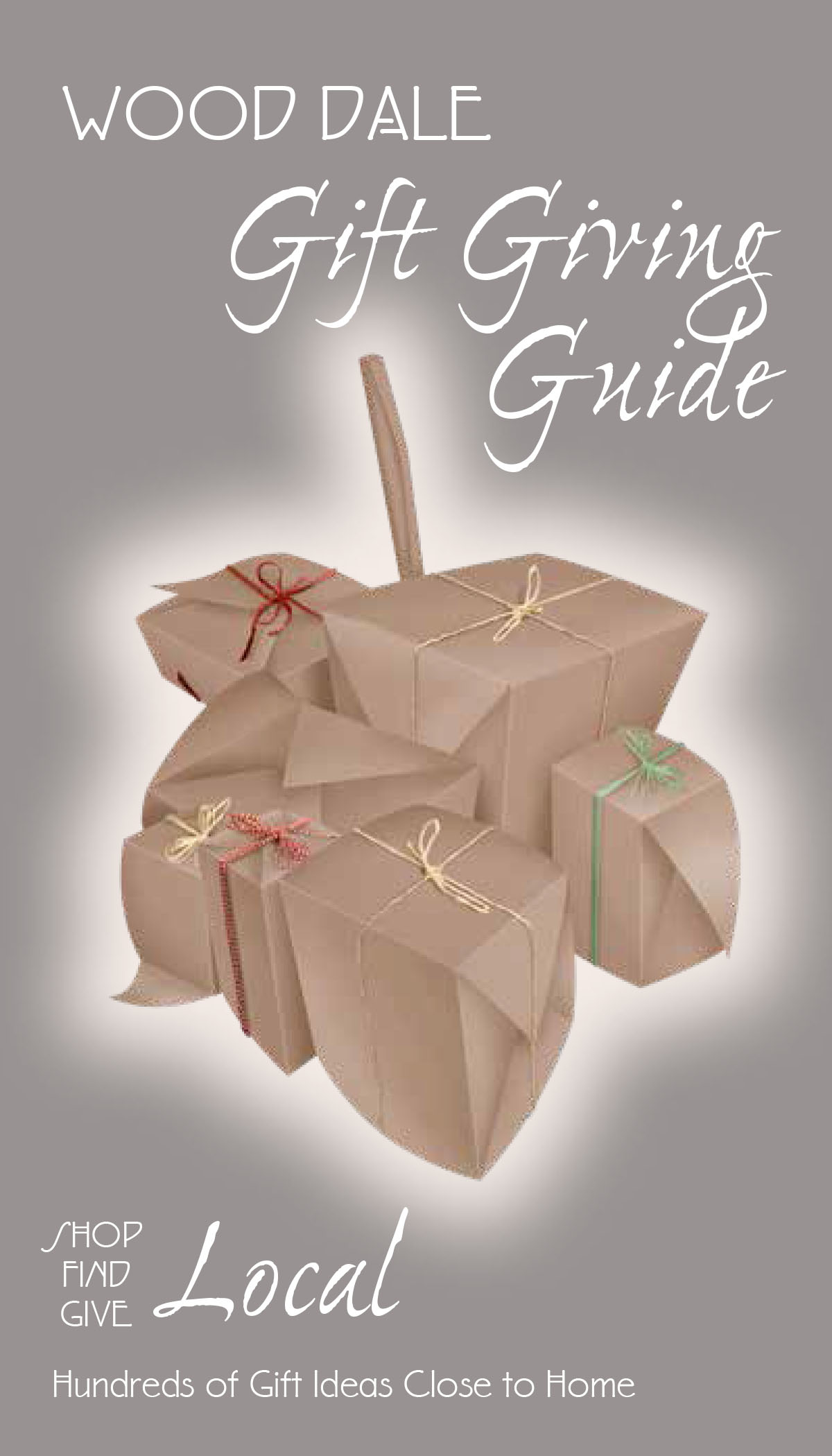 Wood Dale Gift Giving Guide - Cover