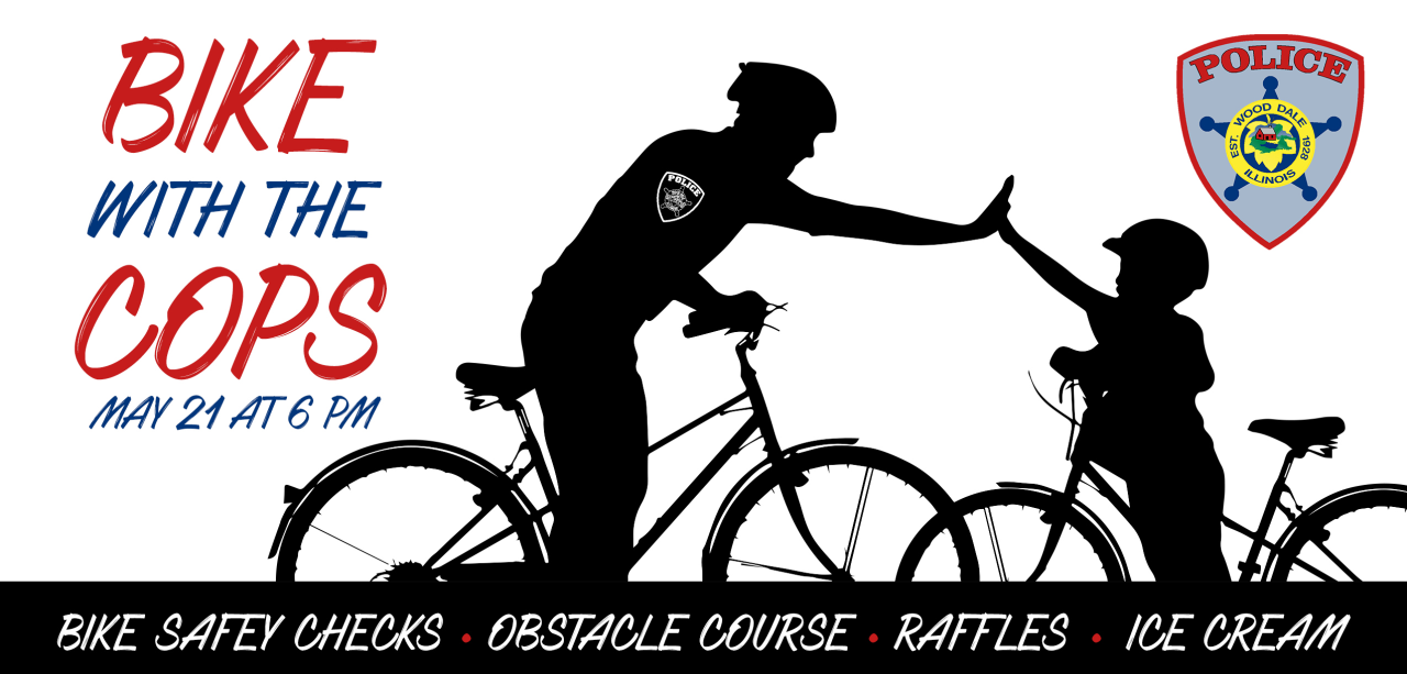 Bike with the Cops | City of Wood Dale, IL