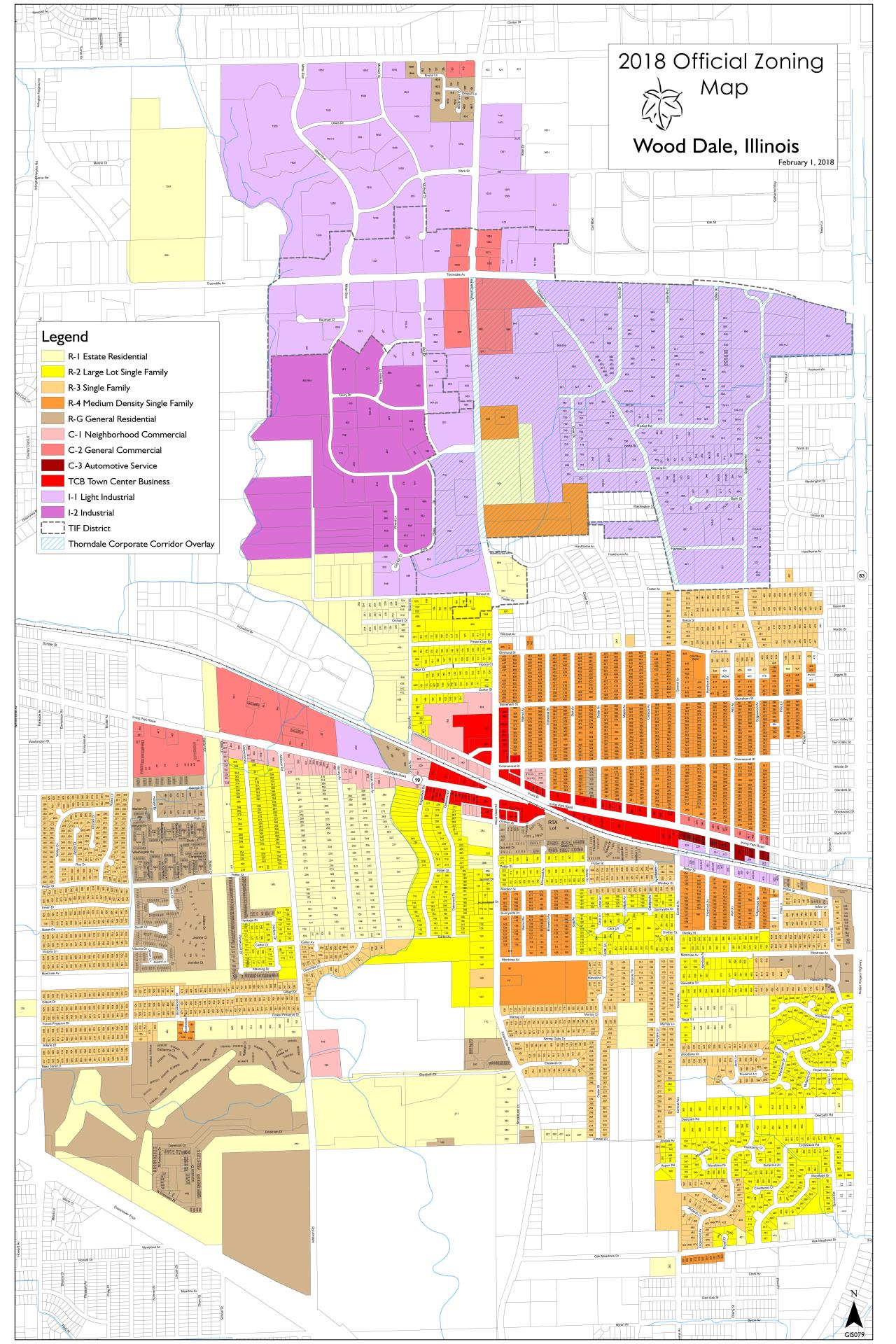 Wooddale Illinois Map.Planning Zoning City Of Wood Dale Il