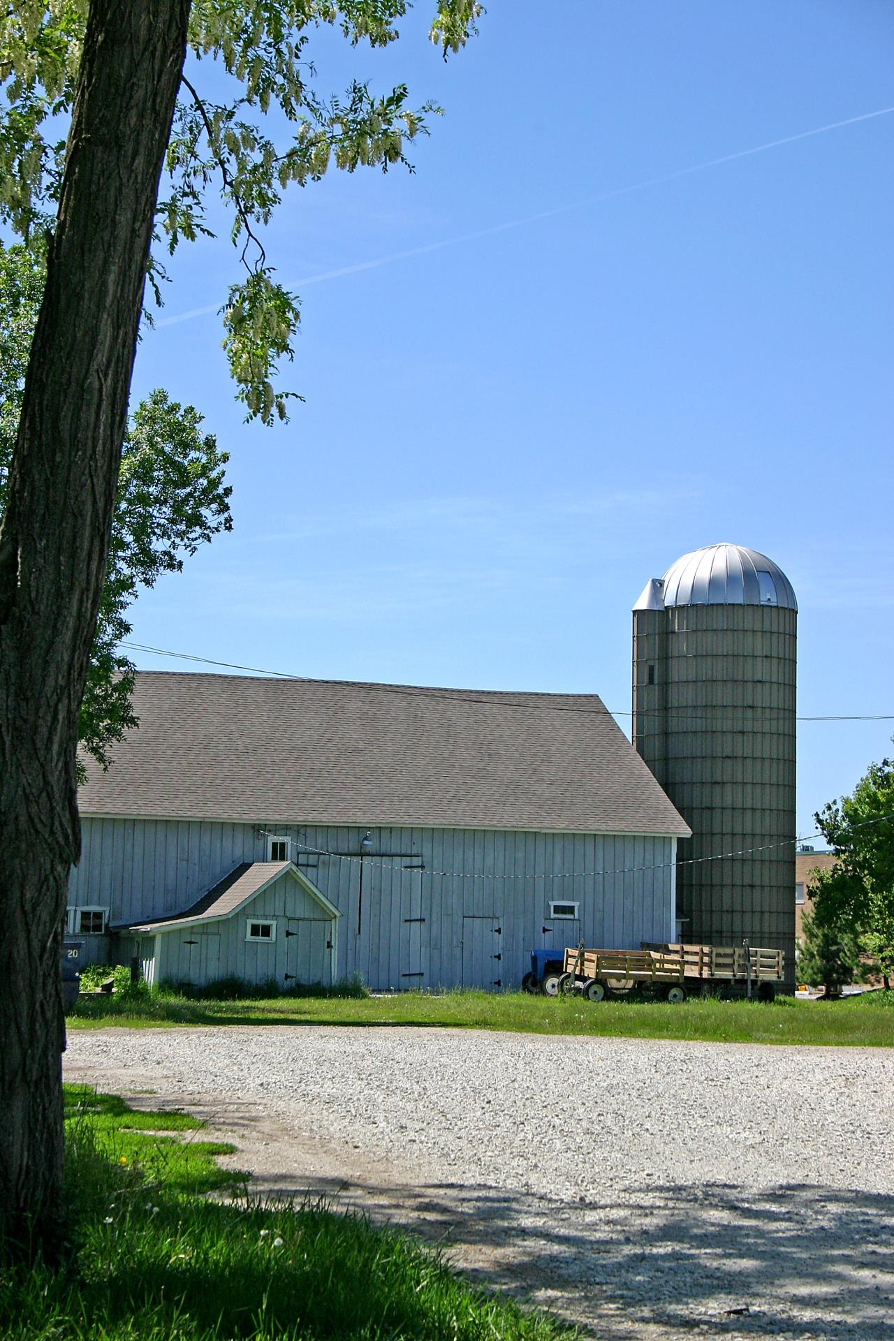 historical farm barn silo 1 vertical