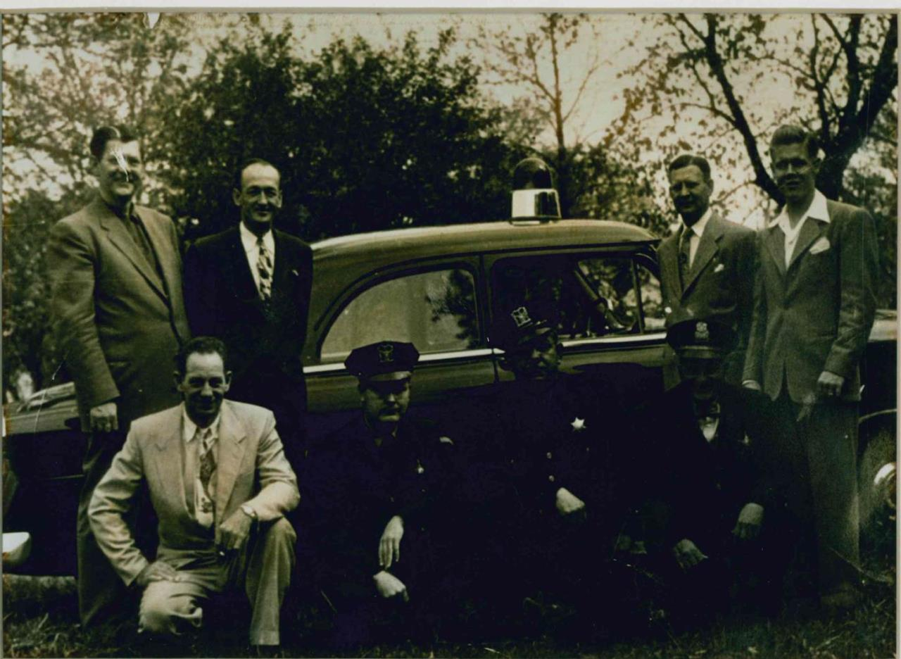 First Wood Dale Police Squad Car 1953